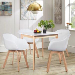 TABLE DE CUISINE  Table à Manger de 2 à 4 Personnes Scandinave Table