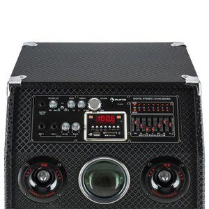 ENCEINTE NOMADE auna DisGo Box 2100 Enceinte Bluetooth sono DJ mob
