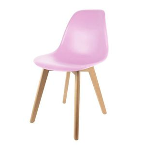 CHAISE Chaise scandinave coque rose Autres Rose