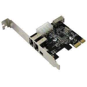 CARTE GRAPHIQUE INTERNE Kingwing® l'icp express pcie 3 port firewire ieee1