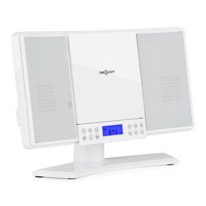 CHAINE HI-FI oneConcept V14 Mini chaîne HiFi stereo avec lecteu