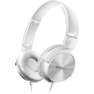 CASQUE - ÉCOUTEUR AUDIO PHILIPS SHL3000 Casque audio DJ-Style Blanc