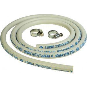 FER - POSTE A SOUDER Kit connexion gaz complet pour réchauds gaz (tuyau