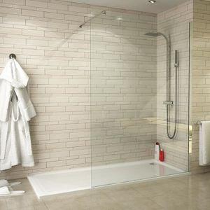 PORTE DE DOUCHE Paroi de douche SINGLE en verre 140 x h200 cm