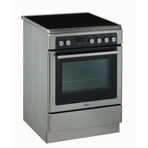 CUISINIÈRE - PIANO WHIRLPOOL AXMT 6434-IX - Cuisinière mixte - 3 gaz