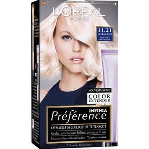 COLORATION L'OREAL PARIS Coloration Permanente Préférence 11.