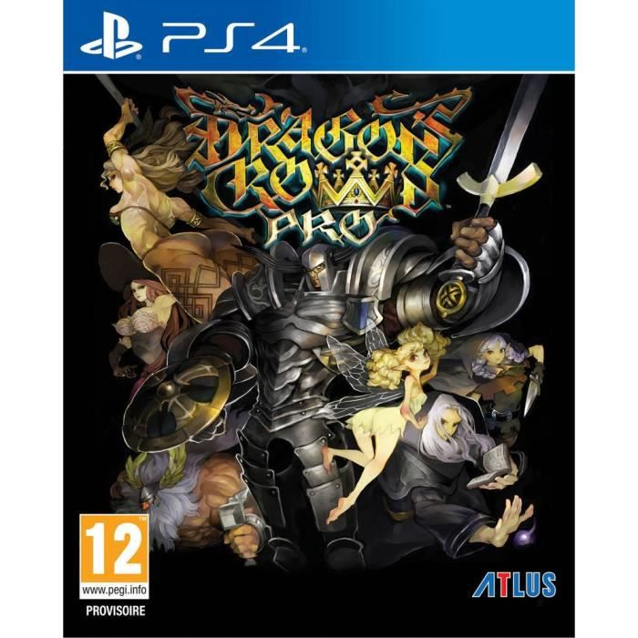 JEU PS4 Dragon's Crown Pro: Edition Battle-Hardener Jeu PS