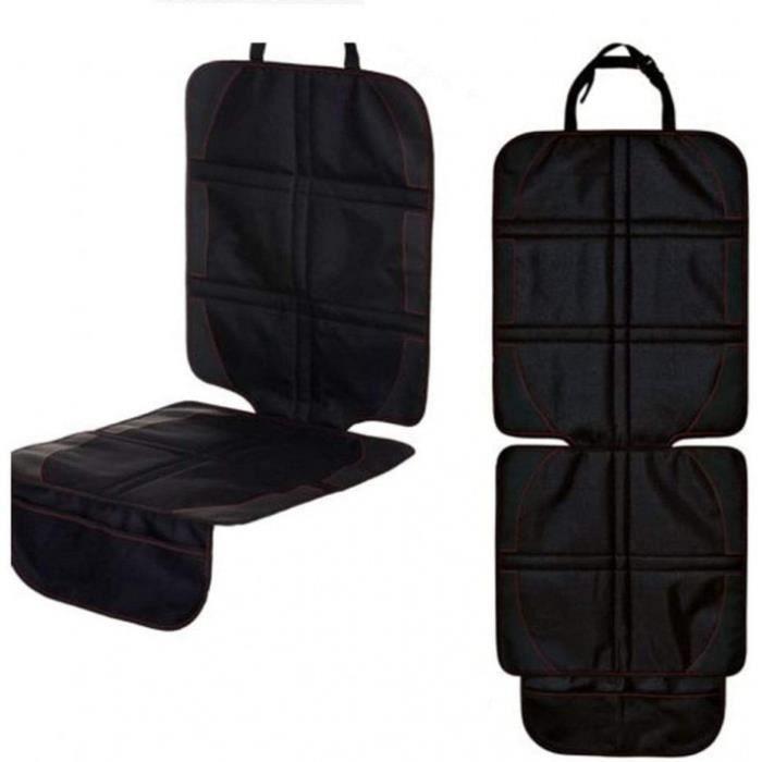jusnhuo protèges protecteur de siège de voiture, imperméable housse de siège, voiture sièges enfant avec poches organisateur antidér