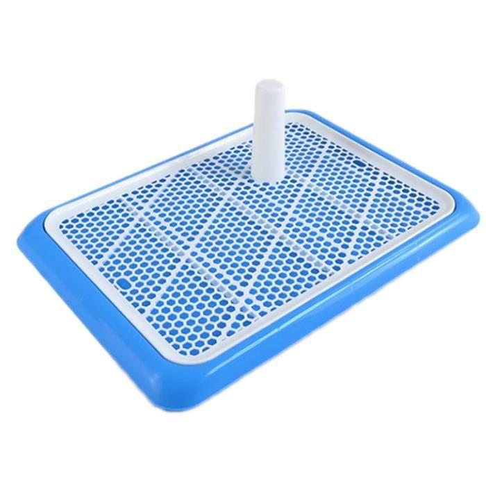 Sac de proprete excrements,Coussinets de toilette pour chiots et petits animaux Toilettes carrées d'entraînement - Type Blue