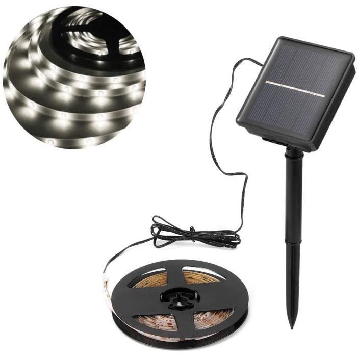 BANDE LED - RUBAN LED AOZBZ Bande solaire LED eacutetanche flexible LED 98 m3 m 90 LED Mood Rope pour jardin patio cour fecircte621