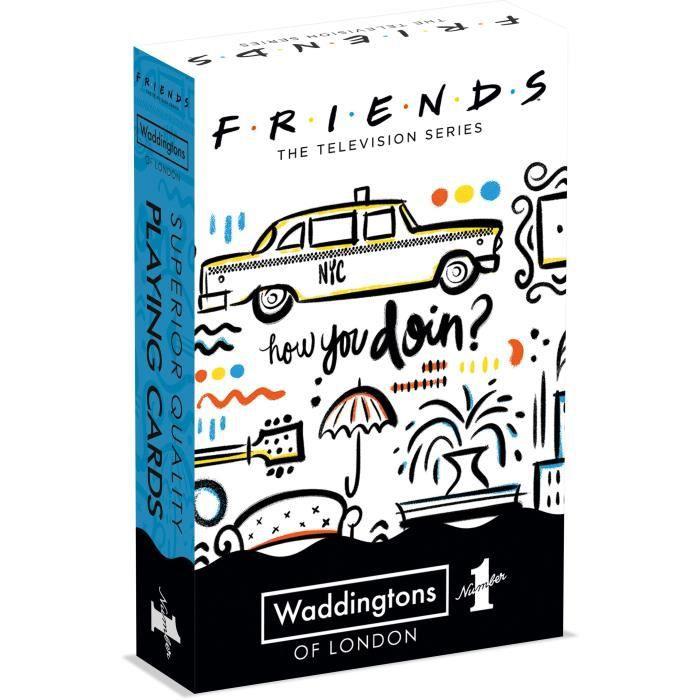 WADDINGTONS N°1 - Friends - Jeu de 54 cartes