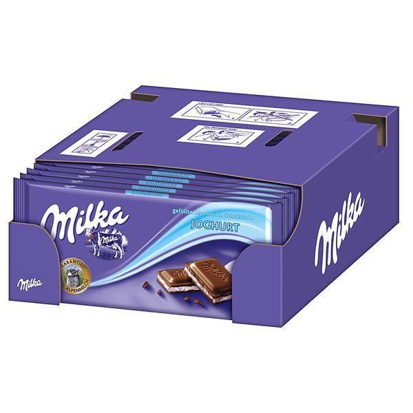 Milka Yaourt Chocolat 21 x 100g
