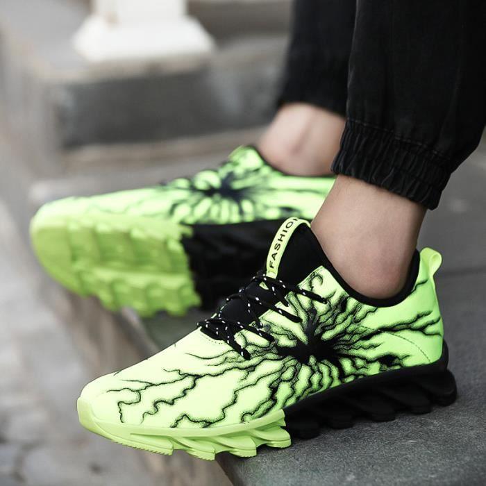 Chaussures de course running sport Compétition Trail entraînement homme femme basket ete baskets