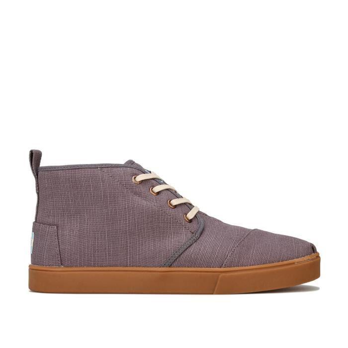 Boots Toms Botas Mid Cut Pour Homme En Gris
