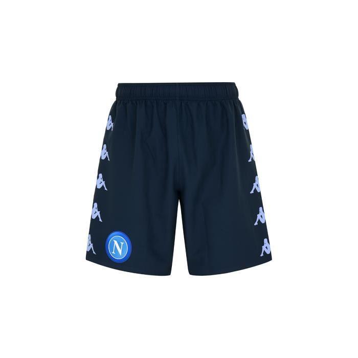 Kappa - Short Kombat Ryder Pro Napoli Ssc Bleu