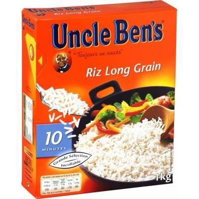 MARS PF FRANCE Riz long grain Uncle Ben's - 1 kg