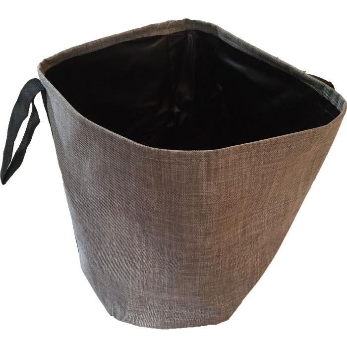 KITCHEN GARDENING Pot de fleurs en tissu pour plante - Taille M - Marron sable