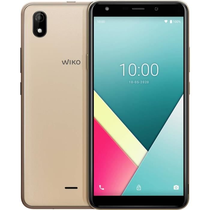 Smartphone double SIM 4G WIKO Y61 WIKY61WK560GOLST 16 GB 6 pouces (15.2 cm) double SIM Android™ 10 8 Mill. pixel or 1 p