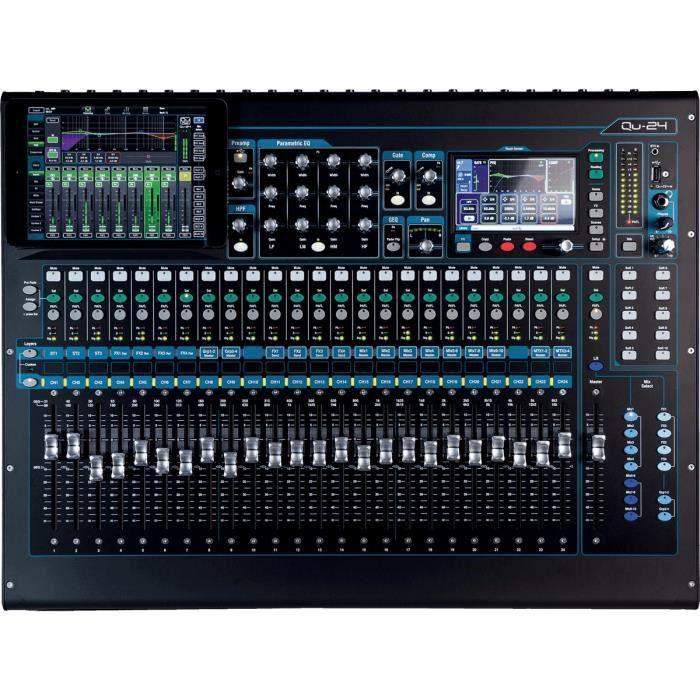 Allen Heath Sah Qu 24 Consoles 24 Entrees Micro Table De
