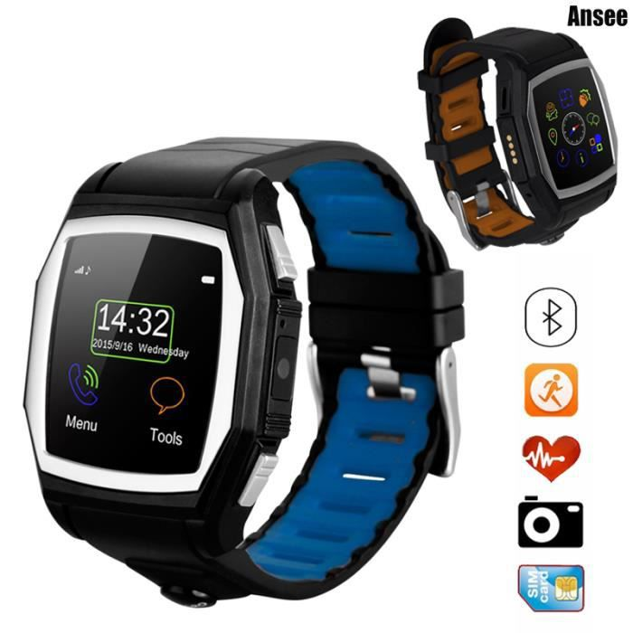 ansee bluetooth gps montre intelligente sport tanche. Black Bedroom Furniture Sets. Home Design Ideas