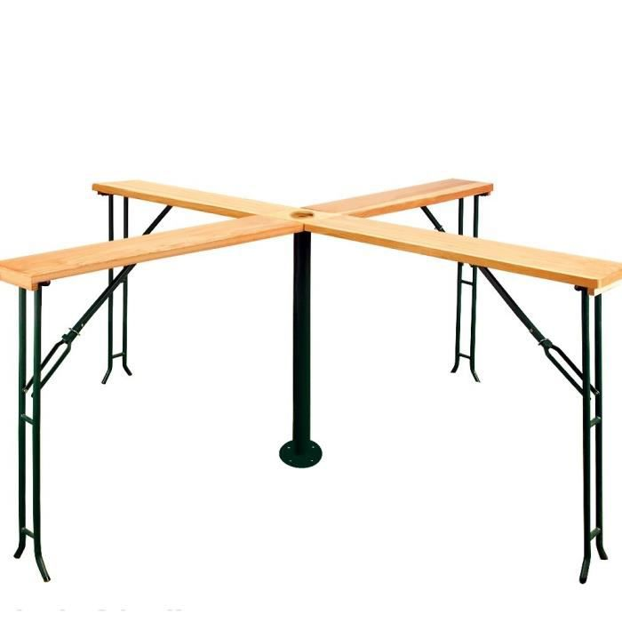 Bi re table de bar en bois achat vente table de jardin - Table de bar en bois ...