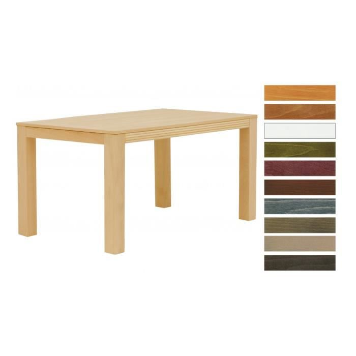 Table rectangulaire samoa h tre naturel 1 allon achat for Table a manger rectangulaire