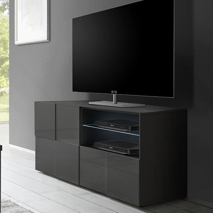 petit meuble tv design achat vente pas cher. Black Bedroom Furniture Sets. Home Design Ideas