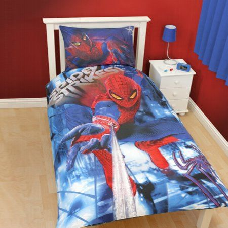 housse de couette spider man the amazing achat vente housse de couette cdiscount. Black Bedroom Furniture Sets. Home Design Ideas