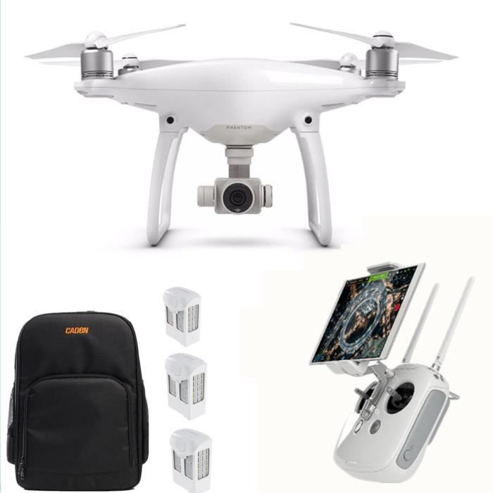 dji phantom 4 quadricopt re drone avec camera 2 batterie suppl mentaire sac pour drone. Black Bedroom Furniture Sets. Home Design Ideas