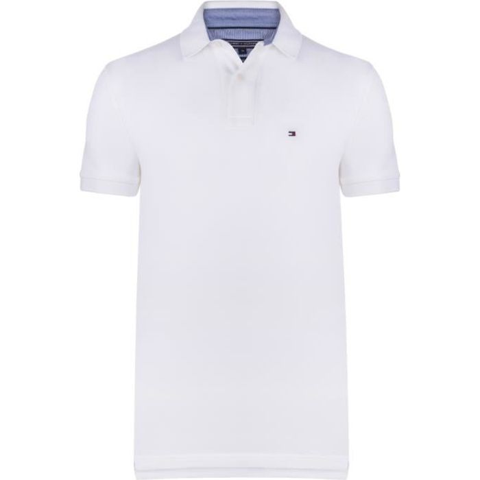 Tommy Hilfiger Homme Polo Blanc - Achat /