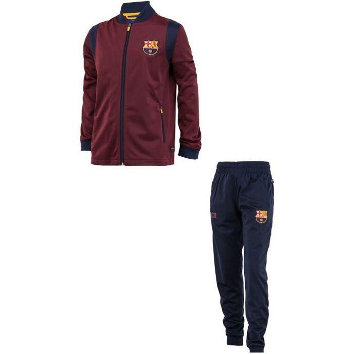 Fc Barcelone Surv/êtement Training fit Barca Collection Officielle Taille Enfant gar/çon