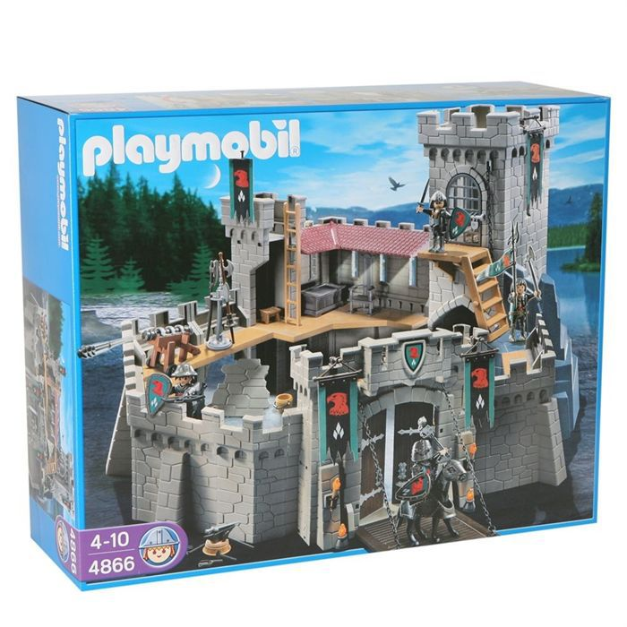 playmobil 4866 forteresse des chevaliers du faucon achat. Black Bedroom Furniture Sets. Home Design Ideas