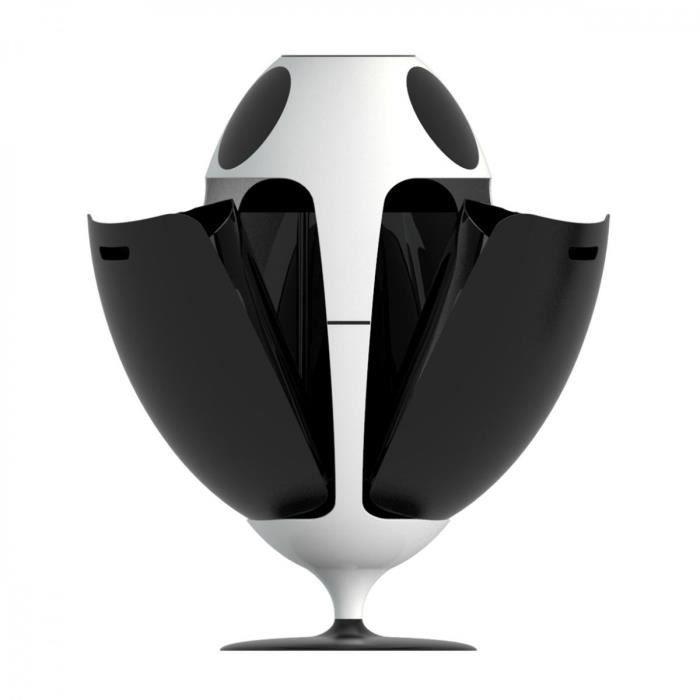 Noir Soldi design Poubelle de tri OVETTO ABS