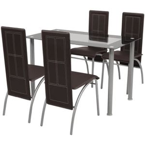Salon de jardin MIALI en PVC : 2 fauteuils, un canapé 2 ...