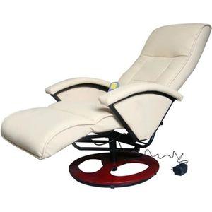 FAUTEUIL Fauteuil électrique de massage Fauteuil de relaxat