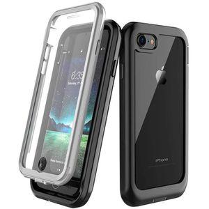 Beeasy Coque iPhone 11 Antichoc Verte IP68 /Étanche 360 /° Protection avec Protecteur d/Écran Int/égr/é Imperm/éable Antipoussi/ère Anti-Neige Waterproof Etui Housse pour iPhone11