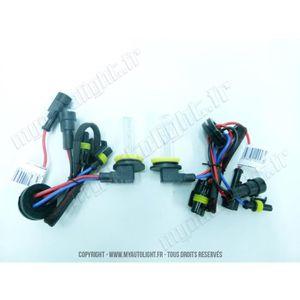 2 ampoules H9 6000K 55W de rechange pour Kit X/énon HID