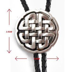 OBJET DÉCORATIF Tie Fermoir FYX dessin de noeud chinois Argenté