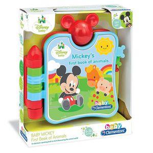 Premier Livre D Animaux De Clementoni Disney Baby Mickey Anglais