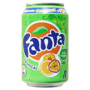Soda - Thé glacé Fanta Tropical 33cl (pack de 24)