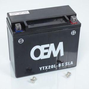 BATTERIE VÉHICULE Batterie sans entretien YTX20L-BS SLA moto Yamaha