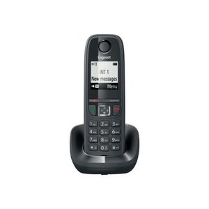 Téléphone fixe Gigaset AS470 Téléphone sans fil avec ID d'appelan