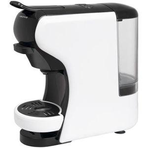 COMBINÉ EXPRESSO CAFETIÈRE Machine à Café POTTS Blanc IKOHS capsules et café