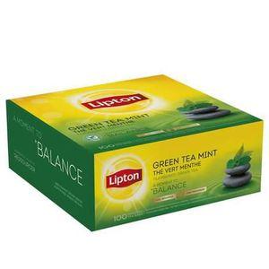 THÉ Lipton, Thé vert menthe, 100 sachets