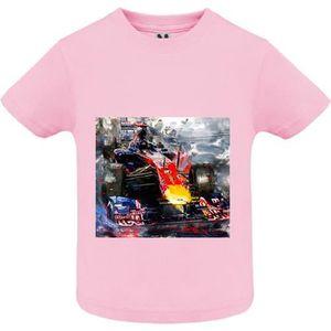 Future pilote Ferrari-nouveau t-shirt en coton doux personnalisé tees Garçons Filles