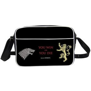 BESACE - SAC REPORTER Besace Game of Thrones - You Win or You Die