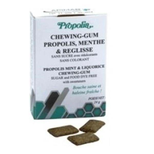 Chewing gum propolis, menthe & réglisse - boîte…