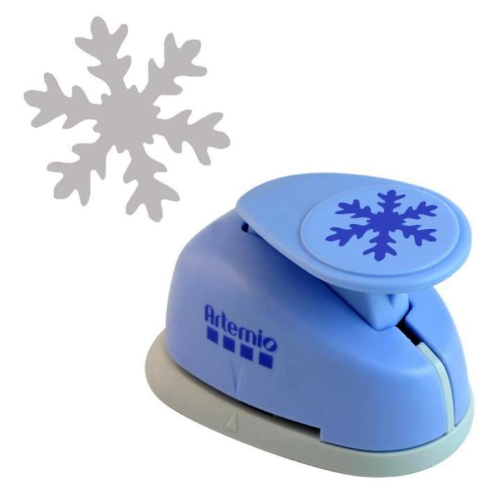 Perforatrice géante flocon de neige - 5 cm