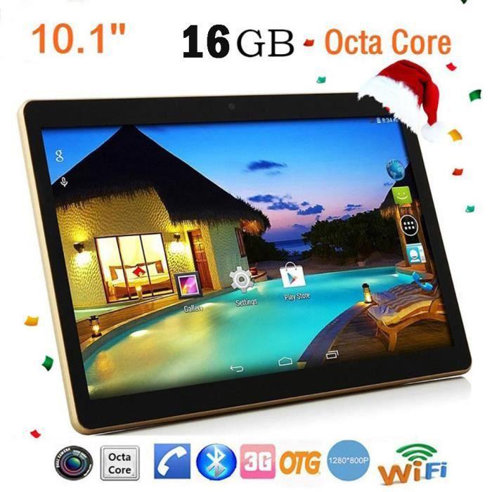 10.1Inch 1 + 16G Android 4.4 Dual Sim Dual Camera Phone Wifi Tablet PC EU Plug ZCQ200306002BK