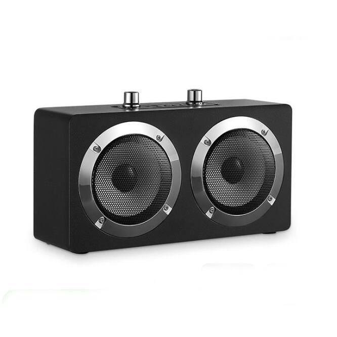 Système acoustique de table de musique, colonne Bluetooth, Radio, système acoustique, Boombox, enceinte Bluetooth, - Type Black